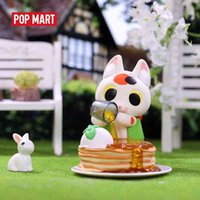POP MART Konatsu Ling-Can Cat CAN NEKO Friends Sweets series Animal Action Toys Figure Birthday Gift Kid Toy