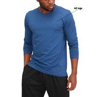Yeni Sıcak Stil Spor Giysileri erkek Uzun Kollu Spor Ceket Hızlı Kuruyan Yuvarlak Boyun Basketbol Koşu Eğitim Spor Giysileri Erkekler