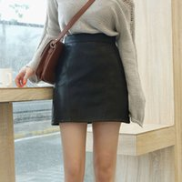 Skirts Women Sexy Slim A-line Ulzzang Vintage Trendy Ladies Empire Skirt All-match Summer Mini Simple Solid Soft Girls Street1