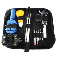 Storage Bags Black Nylon Tool Set Organizer Repair Kit Multi-purpose Small Canvas Portable Zipper Bag Parts M9Y7