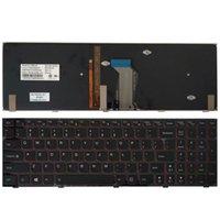 Nuova tastiera statunitense per la tastiera del laptop Lenovo US Blacklight 210315