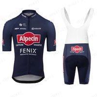 2021 Alpecin Fenix Cyclisme Costumes de vélo Vêtements Vêtements Vêtements Pour hommes Men's Pro Babe Shorts Ensembles de Jersey Vélo MTB Maillot Ciclismo Kit
