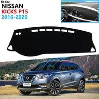 Armaturenbrett Cover Schutzpolster für Nissan Kicks 2016 2017 2018 2019 2020 P15 Autozubehör Dash Board Sunshade Teppich Anti-UV