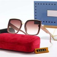 남성과 여성을위한 럭셔리 디자이너 안경 G 편광 된 선글라스 여름 패션 트렌드 안경 패션 벨트 상자 G2353