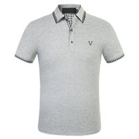 2021 Mens Designers Polo Camisas Homens Casual Polos Moda Carta Imprimir Bordado Verão T Shirt High Street Algodão Asiático Tamanho M-3XL