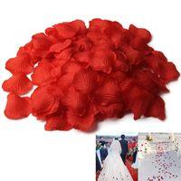 500pcs / lots 인공 실크 장미 꽃잎 de 결혼 가짜 꽃 꽃잎 액세서리 발렌타인 데이 파티 결혼식 장식 VL