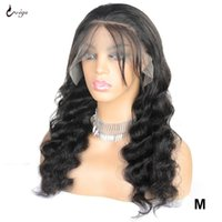 Uwigs Deep Wave Closure Wig Loose Deep Wave Wig 13x4 Lace Lace Closure Human Hair Wigs For Women Remy