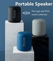 Bluetooth المحمولة المتحدثين 12 ساعة استخدام 32 جيجابايت مكبرات الصوت 10M اللاسلكية BT5.0 ستيريو الموسيقى دعم بطاقة TF مع مايكروفون الصوت مكالمة حجم 75 ملليمتر * 88 ملليمتر