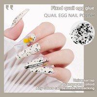 Nail Art Kits 12ml Gel Eggshell Polish Transparent Soak Off UV LED Varnish With Any Color Base Top Coat TSLM2