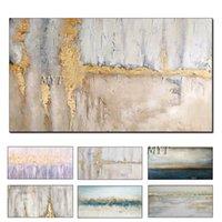 Myt su tela decorazione della stanza moderna 100% disegnata a mano disegnata a mano disegno nuovo pittura a olio immagini senza cornice 210310
