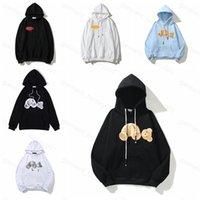 21SS Hombre Mujeres Diseñador Angels Sudadera Sudadera Suéter Sweatshirts Streetwear T Shirt Goose Canada Chaquetas PA de OW Blanco Niebla Palmas Oso Sudaderas con capucha