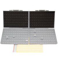 Clajos vacíos al por mayor- Box-All-72 Aidetek Cajas 4 2 Organizador de condensador de resistencia SMD 0603