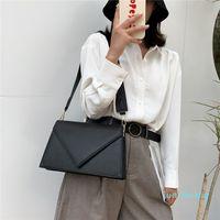 HBP PU Leather Crossbody Bags Women Handbags Women's Designer Simple Solid Color Travel Shoulder Hand Bags