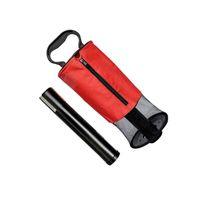 Golf Training Aids Ball Retriever Zipper Pick Up Shag Bag Holder Practice Collector MVI-ing