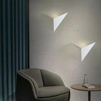 Wall Lamp Nordic LED Bird Creative Design Living Room Decoration Thousand Paper Cranes Sconces Art Light Fixtures