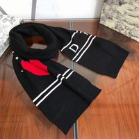 Foulard de marque Soft Cashmere Soft Cachemire Modèle d'amour Black and White Foulards de luxe