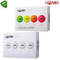 Original two boxes of Honma D1 Golf two-layer color long-distance ball
