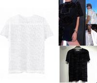 Bayan Bluzlar Gömlek Akşam Giyim DR Yaz T-Shirt Kadın Ve Erkekler Freeze T Gömlek Siyah Beyaz Sırf Hip Hop T-Shirt Giyim Oymak