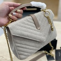 2021 السيدات حقيبة الكتف مصمم العلامة التجارية envelopelather crossbody سلسلة كلاسيكية جودة محفظة مربع هدية اللون