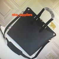 M40566 Lu Explorer Портфель Tote Sumbaging Eclipse Hanvas Men Crossbody Сумки Classic Mono Цветочные Кожаные Портфоны Мода Человек Сумка