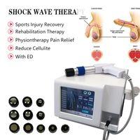 통증을위한 Protable Shockwave 치료 물리적 충격파 장치 발기 용 Dysfuntion 및 체통 물리 치료제