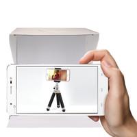 مصغرة صورة استوديو مربع التصوير خلفية المدمج في ضوء الصورة مربع سلع صغيرة التصوير الفوتوغرافي مربع الاستوديو الملحقات