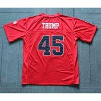 Patrick Mahomes # 5 Blanche House High School Football Jersey cousu Rouge Taille S-4XL N'importe quel nom et numéro de qualité supérieure