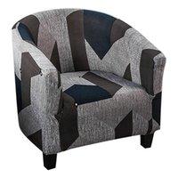 جديد مطبوعة مرونة حوض كرسي غطاء غرفة المعيشة تمتد أريكة الغلاف الأثاث واحد مقاعد الأريكة الأريكة