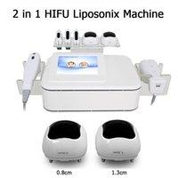 آلة الموجات فوق الصوتية Liposonix لتخفيف الوزن آلات التخسيس سريع الدهون إزالة فورية فعالة ليبو هيفو معدات الجمال
