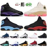 2021 Court Purple 13s Basketball Shoes Men Women 13 Dark Powder Blue Red Flint Trainers Cny Playground Chicago Island Green Sneakers