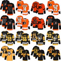 87 Sidney Crosby 71 Evgeni Malkin 58 Letang 59 Guentzel 66 Lemieux 79 Carter Hart 28 Claude Giroux 14 Sean Couturier Hockey Jerseys