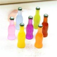 Resina comida juguetes collar colgante accesorios coque botellas de célula de bricolaje cáscara de célula material de belleza Adorno de uñas 34 S2