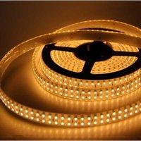 Gratis frakt LED Strip Light Double Row DC 12V / 24V SMD 3528 240LED / M för Home Hotel Office Decoration Light Tape