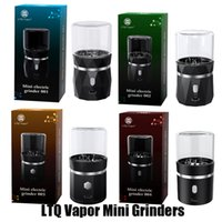 Authentic LTQ Vapor Mini Electric Mangler Grinder Crusher 400mAh Battery Rechargeable Dry Herb Metal Handheld Chopper With USB Cable ReChargerable 100% Genuine