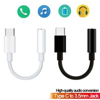 Type-c to 3.5mm USB-C Earphone Headphone Jack Adapter Converter Cable Audio Aux Connector for samsung note 10 S20 S21 xiaomi huawei