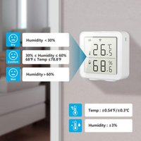 Smart Home Control Temperature Humidity Sensor Detector WiFi 2.4GHz Remote Wireless Monitor Analyzer For Hygrometer Thermometer