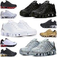 shox tl r4 enigma hombres mujeres zapatos para correr triple negro blanco platino Chrome Sunrise Speed rojo hombres mujeres zapatillas deportivas