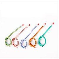 Pencils Creative Stationery Soft Pencil School Supplies Office Gift Pen Plastic1