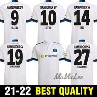 Hamburger SV 21 22 Home Soccer Jerseys Vagnoman Onana Leibold Reis Kittel Glatzel Dudziak Football Shirts 2021 2022 Camisetas de Fútbol Top Thaïlande