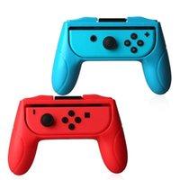Oyun Kontrolörleri Joysticks Yüksek Kalite 1 Set Sol + Sağ ABS El Kavrama Standı Destek Tutucu Ile Işık Göstergeleri ile Çevrimiçi