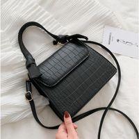 Crossbody Bags Women Shoulder Bag Designer Flap Bag 2021 Fashion High Quality Girls PU Leather Mini Squre Elegant Casual