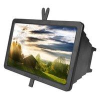 휴대 전화 마운트 홀더 14 인치 모바일 스크린 돋보기 브래킷 확대 스탠드 눈 보호 범용 3D 디스플레이 확장기