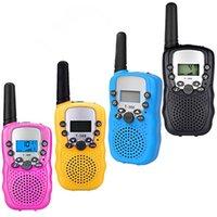 T388 Детская радио Игрушка Walkie Talkie Kids Radios UHF Двухсторонняя T-388 Детская прогулка Talking Пара для мальчиков