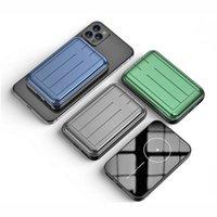 20W Schnellmagnetisches kabelloses Tragbares Ladegerät für Magssafe-Ladegerät Power Bank für iPhone Xaiomi Huawei Mobile Batterie Große Kapazität