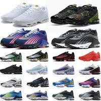 Nike air max tn plus 3 uomo donna scarpe da corsa scarpe da ginnastica da uomo sneakers Pre-Day triple black core bianco grigio fashion womens trainer sport