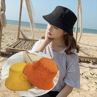 JTVOVO Runmeifa Womens Eimer Hut Panama Fashion Fischer mit breiter Krempe Sonnenschirm Sommer Balaclava Kpop-Kappe