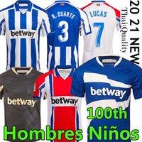 MEN+KIDS 20 21 Deportivo Alavés soccer jersey Alaves 100th centenary camiseta de fútbol PERE PONS lucas JOSELU football shirt