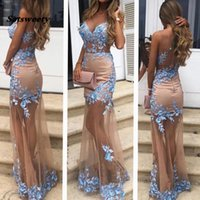 South Africa Evening Dress Champagne Lace Mermaid Backless Simple Gown Floor Length vestido de fiesta Long Prom Dresses