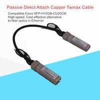 Câble DAC 10G SFP + Passive Direct Fixer Câble Twinax Copper 0.2m 30AWG Compatible pour Ubiquiti Mikrotik Zyxel Arista, etc.