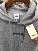 Vetements Hoodies Männer Frauen Aufkleber Fremder Sachen Streetwear Hohe Qualität Sweatshirt Stickereien Erbten Hoodie T200608